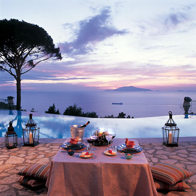 Romantic Dinner, Hotel Caesar Augustus